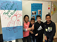 Anne-Frank-Schule spendet für Nicaragua, Partnerschaftsverein Kreis Groß-Gerau - Masatepe/Nicaragua e.V., Schulklasse